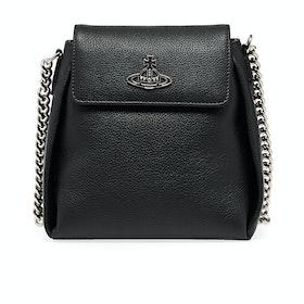Saco de Mão Senhora Vivienne Westwood Windsor Bucket - Black