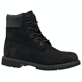 Timberland Icon 6in Premium Waterproof Dame Støvler - Black Black