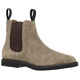 Sebago Chelsea Suede Polaris Ladies Boots - Beige Taupe
