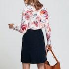 Maglietta Donna Gant Peonies Cotton Voile
