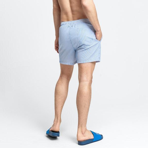 Gant Seersucker Classic Fit Swim Shorts