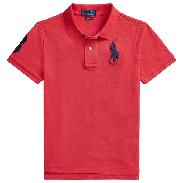 Ralph Lauren Logo Knit Jnr Boy's Polo Shirt