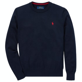 Polo Ralph Lauren Sweater Junior Boy's Knits - Hunter Navy