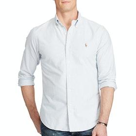 Polo Ralph Lauren Oxford Slim Fit Shirt - Bsr Blue/White