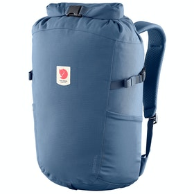 Fjallraven Ulvö Rolltop 23 Backpack - Mountain Blue