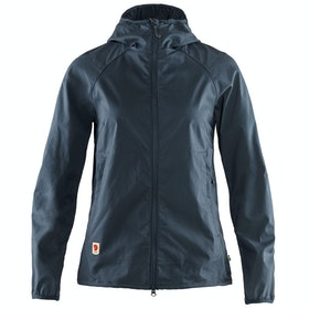Fjallraven High Coast Shade Ladies Windproof Jacket - Navy