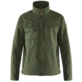 Fjallraven Travellers Mt Jacke - Laurel Green