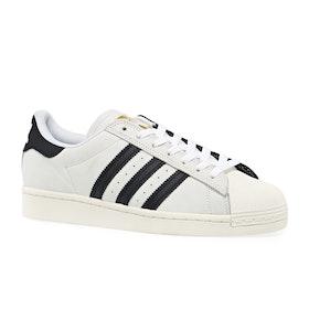 Adidas Superstar ADV Shoes - White Core Black Gold Met 2 Tone. Black Ins