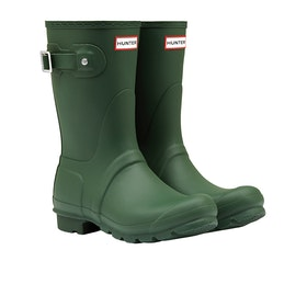 Hunter Original Short Womens Wellies - Hunter Green