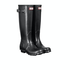 Hunter Original Tall Nebula Womens Wellies - Black