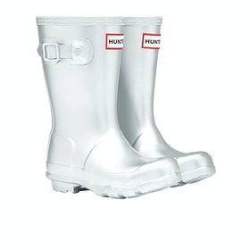 Hunter Original Metal Wellies - Silver