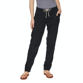 Protest Leaf Trousers - True Black