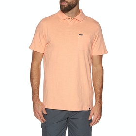 Chemise Polo Animal Quay - Coral Sands Orange