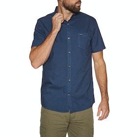 Animal Smokeys Short Sleeve Shirt - Indigo Blue