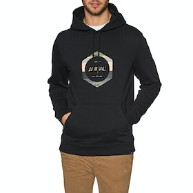 Pullover à Capuche Animal Shores - Black