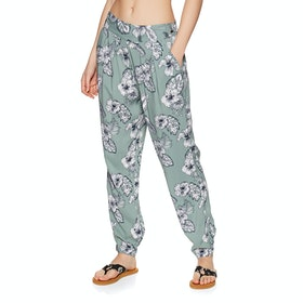 Pantalon Animal Beach Love - Chinois Green