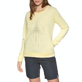 Animal Cruize Womens Sweater - Pineapple Yellow