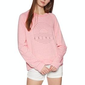 Animal Lamu Womens Sweater - Strawberry Pink