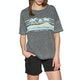 Animal Beachdays Womens Short Sleeve T-Shirt
