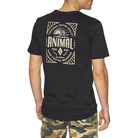 Animal Established Short Sleeve T-Shirt - Black