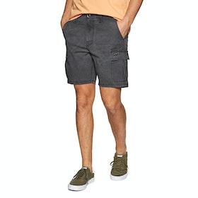 Animal Darwin Cargo Shorts - Asphalt Grey