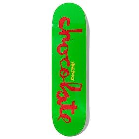 Chocolate Perez Original Chunk Skateboard Deck - Multi