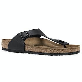 Birkenstock Gizeh Birko Flor Sandals - Black