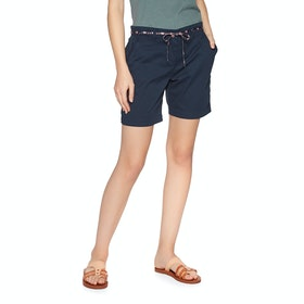 Protest Pecan Shorts - Ground Blue