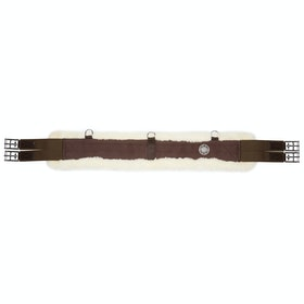 Mark Todd Girth Fleece Lined Webbing Girths - Brown