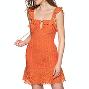 Free People Cross My Heart Mini Dress