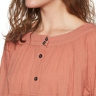 Free People Sea To Shore Solid Women's Top