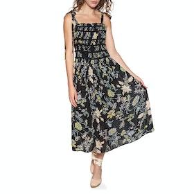 Free People Isla Midi Dress - Black