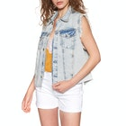 Free People Zoe Denim Fashion Waistcoat