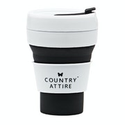 Country Attire Collapsible Travel Mug