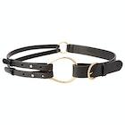 Lauren Ralph Lauren Tri Strap Casual Women's Leather Belt
