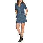 Free People Dream On Denim Mini Kjole