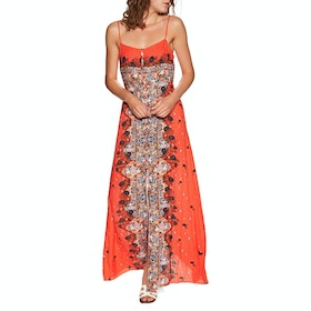Free People Morning Song Printed Maxi Dress - Red