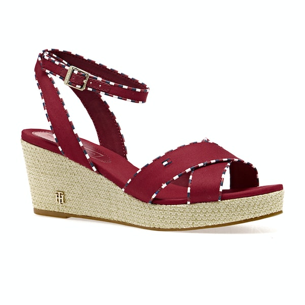 Sandali Donna Tommy Hilfiger Corporate Detail Mid Wedge