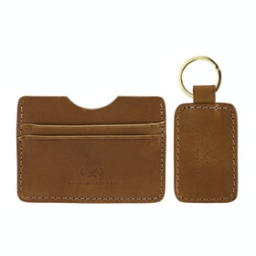Chapman Credit Card Case And Klíčenka - Tan