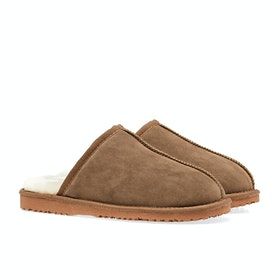 Country Attire Mule Women's Slippers - Tan
