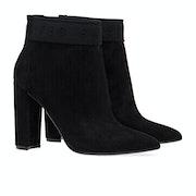 Ted Baker Prenom Branded Suede Heeled Women's Boots