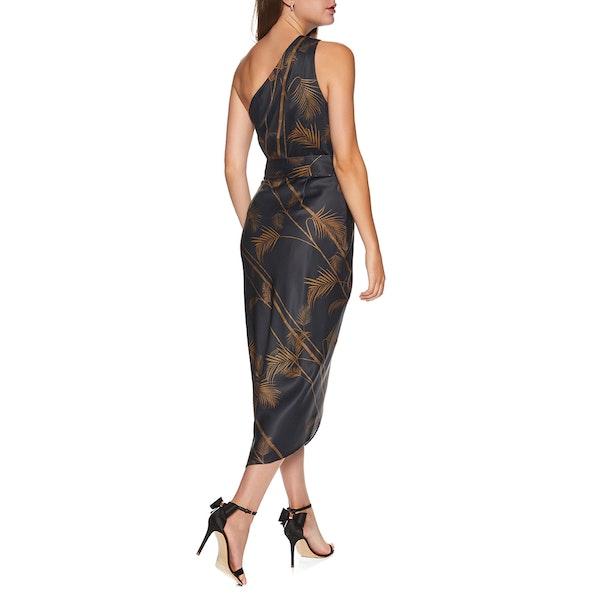 Ted Baker Gabia Caramel One Shldr Midi Dress