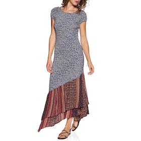 Free People Aurelia Midi Dress - Midnight