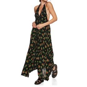 Free People Venice Maxi Dress - Black Combo