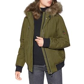 Пуховая куртка Женщины 49 Winters The Bomber - Olive Natural
