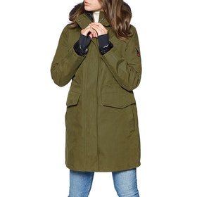 49 Winters The Long Parka Women's Jacket - Olive