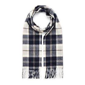 Country Attire Made In Scotland Scarf - Blue Check