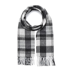 Country Attire Made In Scotland Scarf - Grey Check