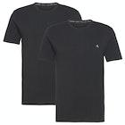 Calvin Klein 2 Pack Crew Neck Menn Kortermet t-skjorte