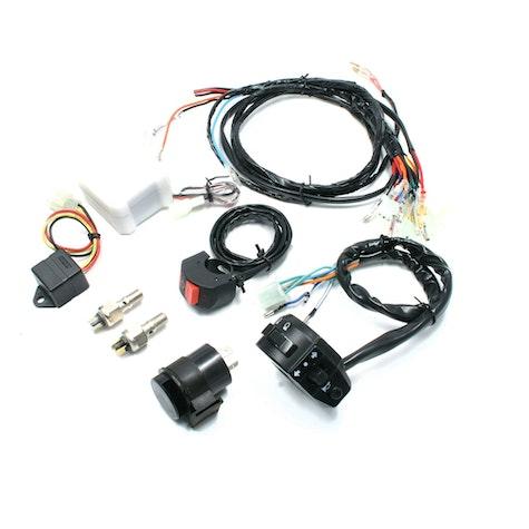 DRC Ez Electric Wire Kit Loom & Switch